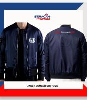 Jaket Bomber Custom